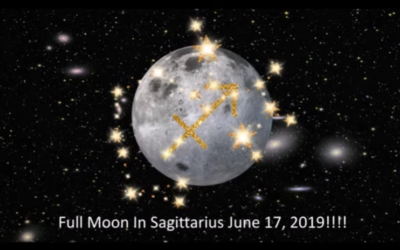 Sagittarius Full Moon June 17, 2019 [VIDEO]