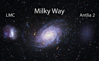 Recently discovered 'ghost galaxy' had an epic collision that formed the Milky Way