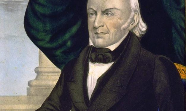 John Quincy Adams: The President And The Mole People