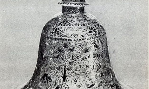 Enigma Of Ancient Bell-Shaped Metal Vase Found In Solid Sedimentary Rock