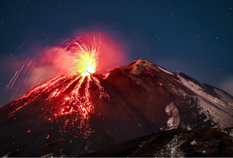 Mount Etna: Europe's Fire-Breathing Monster