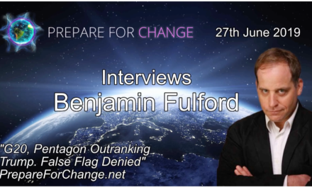 Benjamin Fulford Interview: G20, Pentagon Outranking Trump. False Flag Denied [VIDEO]