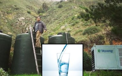 This Container Makes 2000 Liters Of Water A Day Out Of Air