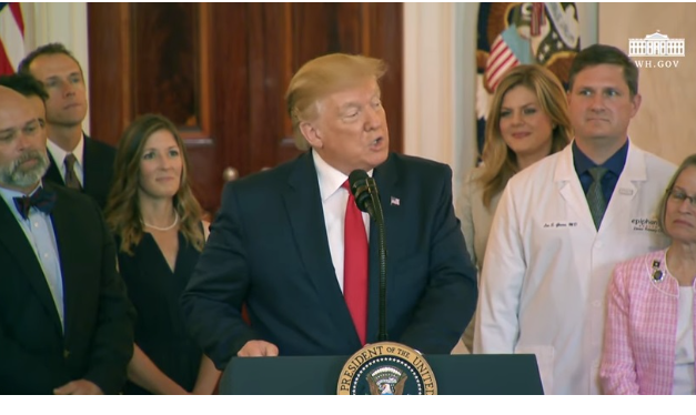 President Trump Announces Executive Order on Healthcare Price Transparency….