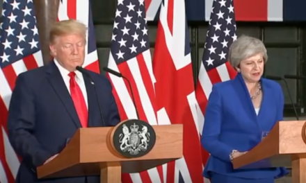 Body Language: Trump & May, UK State Visit [VIDEO]