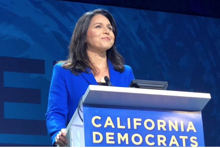 Watch Tulsi Gabbard's Brilliant Speech At The California Democratic Convention