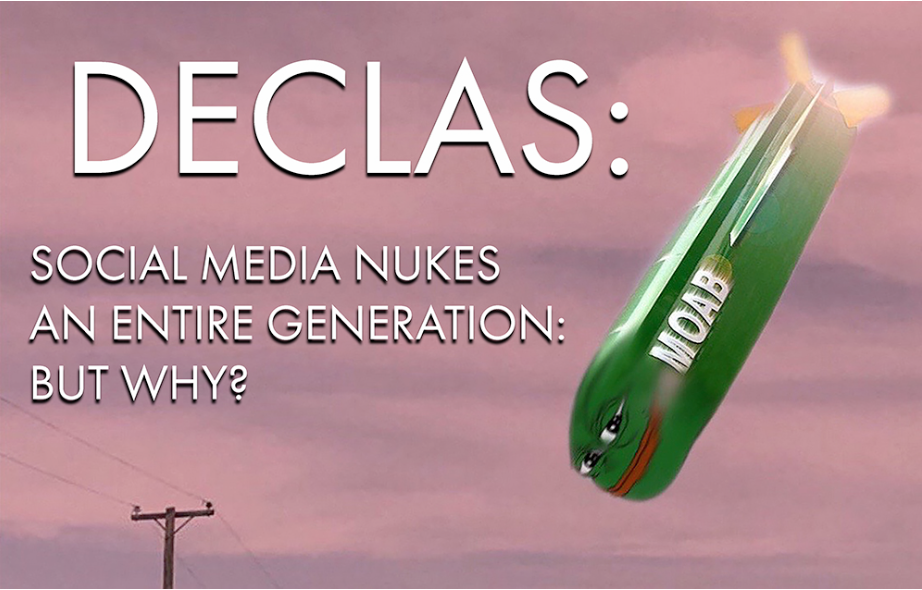 """David Wilcock Update: """"DECLAS: Social Media Nukes An Entire Generation… But Why?"""""""