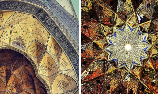 The Beauty Of These Iranian Ceilings Are Hypnotizing