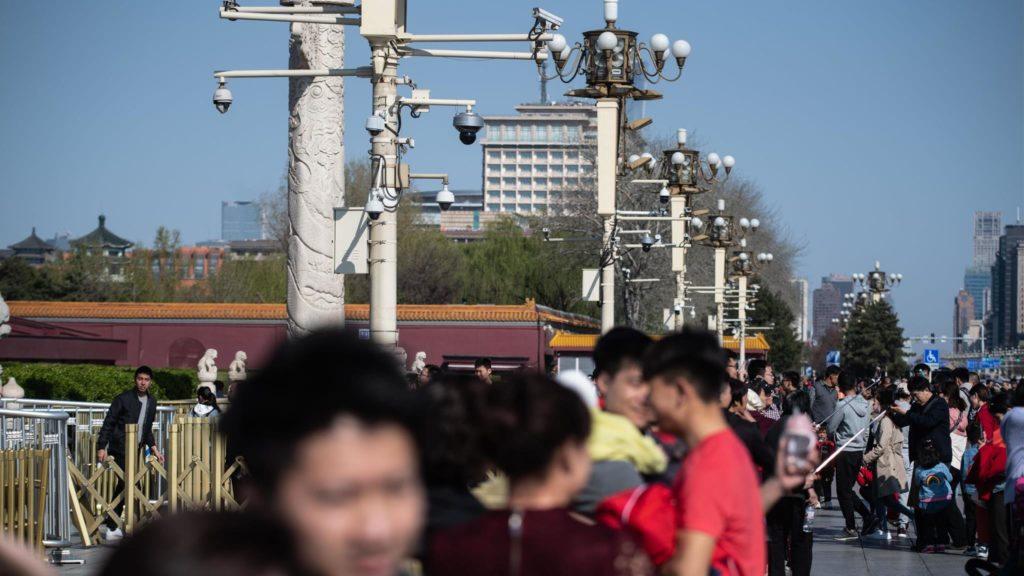 THE DARK SIDE TO CHINA'S SMART CITIES: EVERYONE'S BEING WATCHED