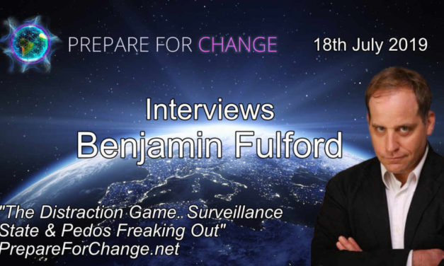Benjamin Fulford Interview: The Distraction Game. Surveillance State & Pedos Freaking Out