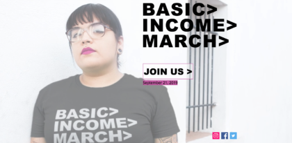 Basic Income March, New York City, September 21, 2019
