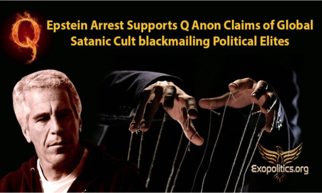 Dr Michael Salla: Epstein Arrest Supports Q Anon Claims of Global Satanic Cult blackmailing Political Elites