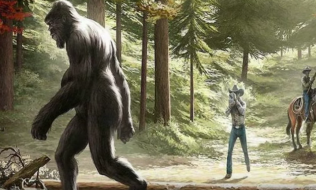 Asian Bigfoot [VIDEO]