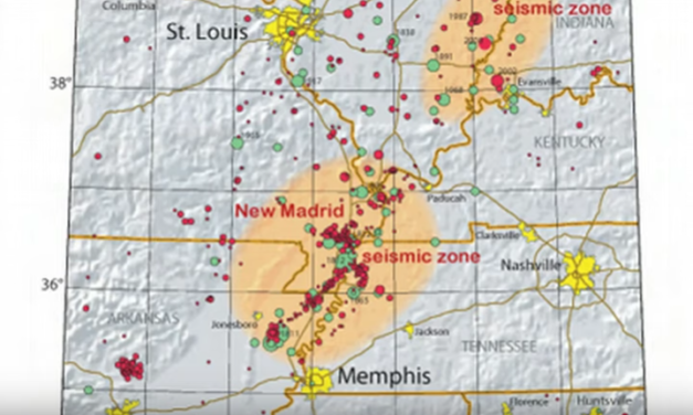 The New Madrid Fault Way Overdue, May Take Out 150 Miles of the Midwest [VIDEO]