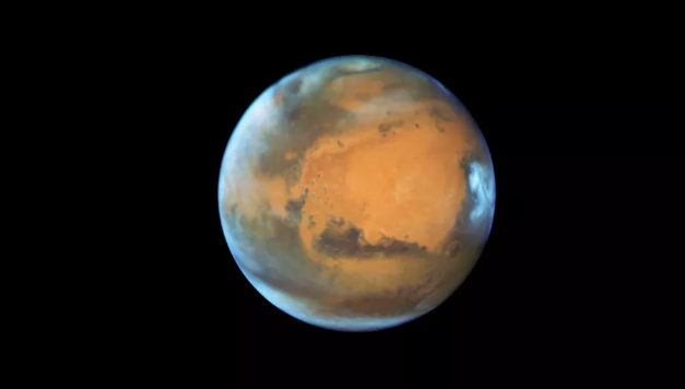 Mars could sustain life under thin layer of 'frozen smoke'