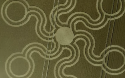 Pepperbox Hill CROP CIRCLE [VIDEO]