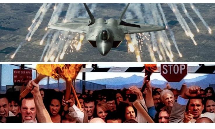 "US Air Force ""Stands Ready to Protect"" Area 51 From Over a Million People"