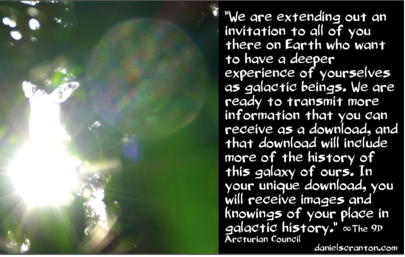 Downloading Your Galactic History ∞The 9D Arcturian Council