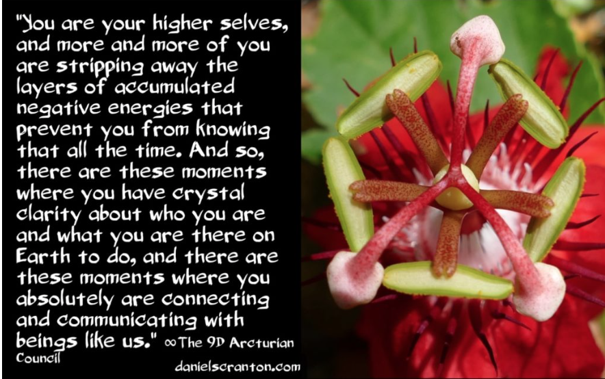 Collaborations with Your Higher Selves ∞The 9D Arcturian Council