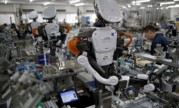 The Great Transformation: Robots Will Displace 20 Million Jobs by 2030 [VIDEO]