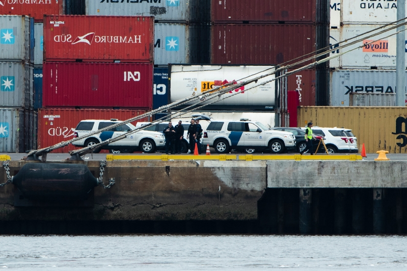 Ship seized in $1.3 billion cocaine bust is owned by JP Morgan Chase