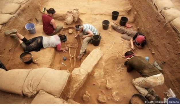 DNA suggests that 12 Century BC Philistines came from Europe