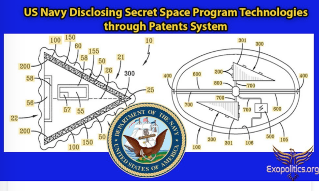 US Navy Disclosing Secret Space Program Technologies through Patents System