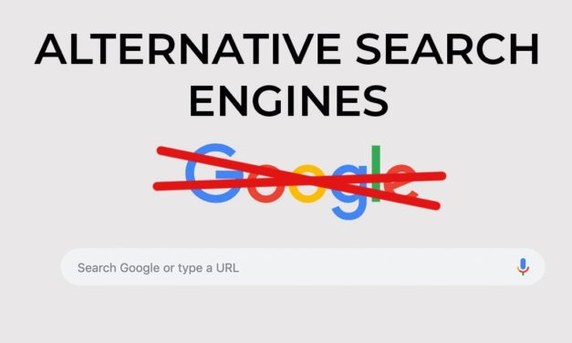A Complete List of Alternatives To The Google Search Engine