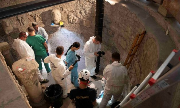 Thousands of Bones Uncovered Inside The Vatican In Search For Missing Teen