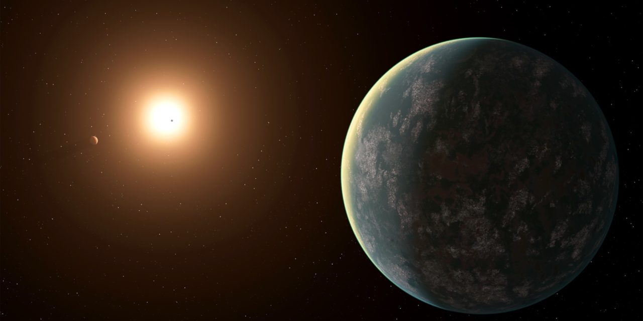 Potentially habitable 'super-Earth' discovered just 31 light-years away