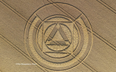 Crop Circle – Preston Candover, Nr Basingstoke, Hampshire.