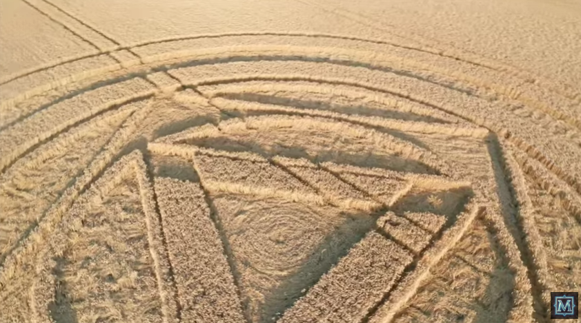 The Preston Candover Crop Circle Is Something Special [VIDEO]