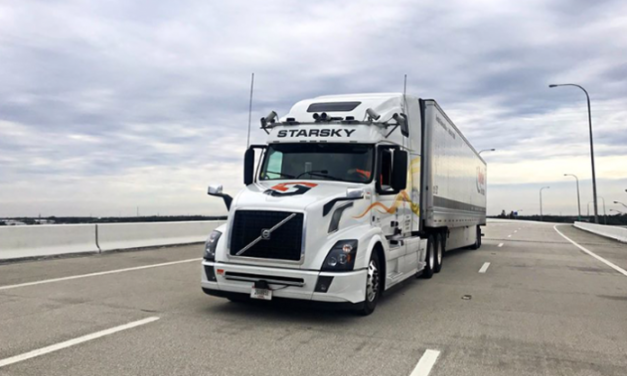A robot dispatcher and a self-driving truck just sent a load 'without any human involvement'