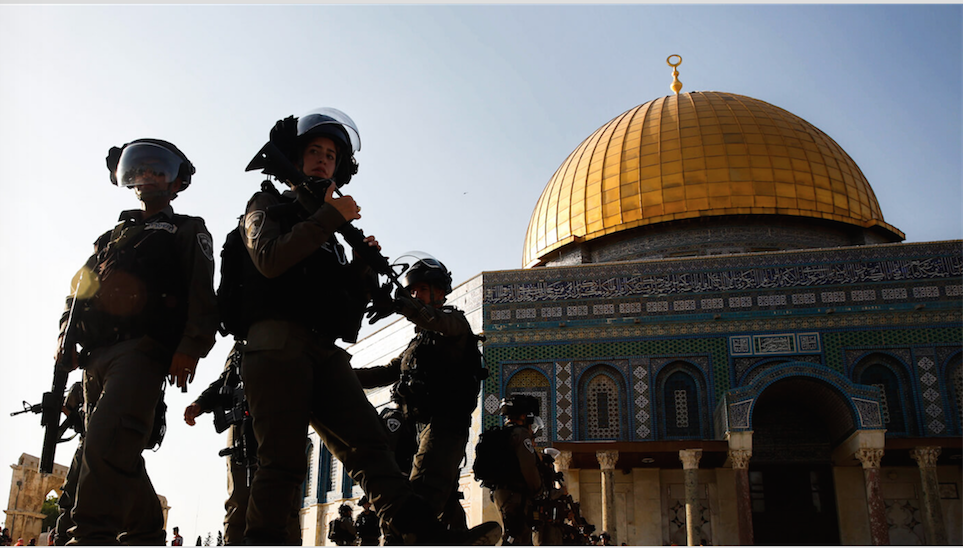 Apocalyptic Fervor: In Israel the Push to Destroy Jerusalem's Iconic Al-Aqsa Mosque Goes Mainstream