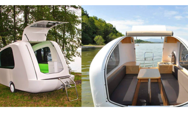 This Amphibious Camper Allows You To Camp On Land And On Water