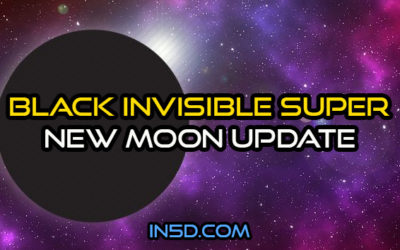 Black Invisible Super New Moon Update