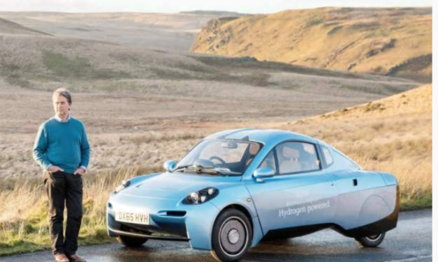 This Futuristic Car Is Powered By Hydrogen And Only Lets Out Water
