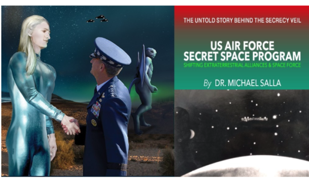 US Air Force Secret Space Program: Shifting Extra-Terrestrial Alliances & Space Force
