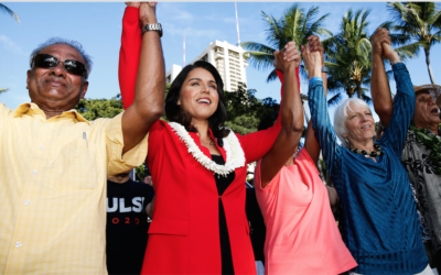 Aloha from Dr. Martin Luther King and Tulsi Gabbard