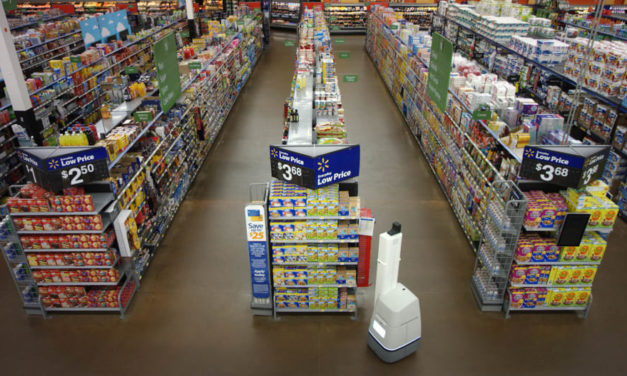 Walmart's robot army has arrived