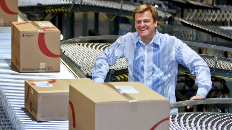 Former Overstock CEO Patrick Byrne just sold all his shares, blaming 'deep state' and SEC