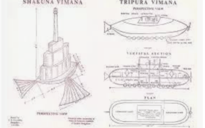 Spaceships And Interplanetary Travel Described 7.000 Years Ago In India