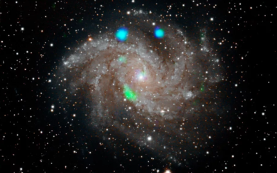 NASA satellite spots a mysterious green light that quickly disappeared