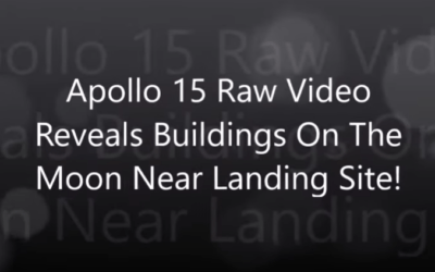 Apollo 15 Raw Video Reveals Buildings On The Moon Near Landing Site! [VIDEO]