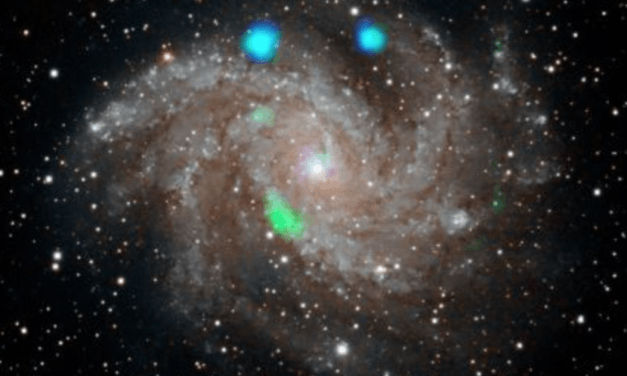 NASA discovers mysterious green light that quickly disappeared