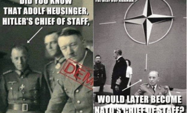 Hitler's Chief of Staff Later Became NATO's Chief of Staff