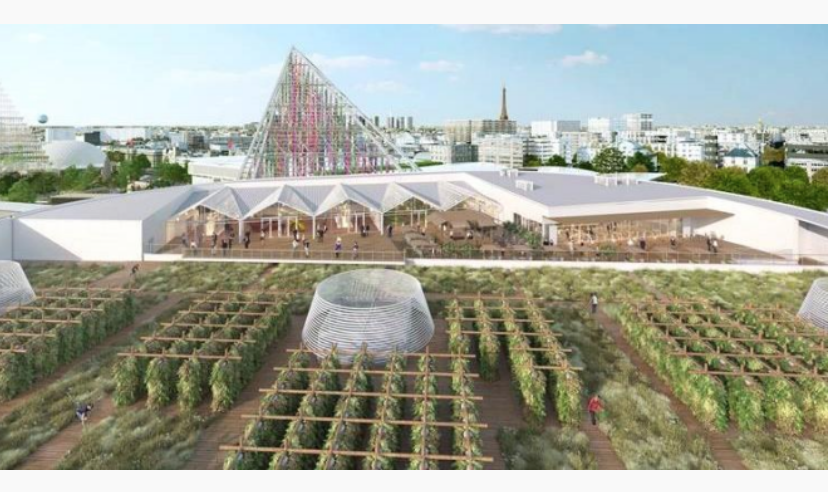 World's Largest Urban Rooftop Farm Set To Open In 2020 In Paris, France