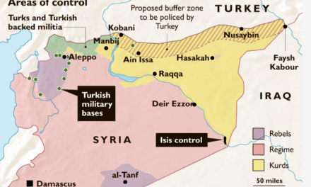 Syria News Roundup: Turks, Kurds, Americans, Syrians and Russians Face Off
