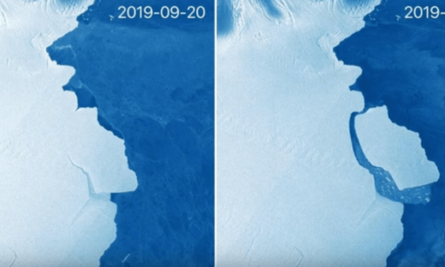 Gigantic Iceberg D-28 Breaks Away From Antarctica [VIDEO]