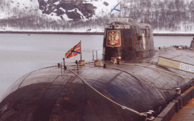 """The Sinking of the K-141 """"Kursk"""" Russian Submarine"""